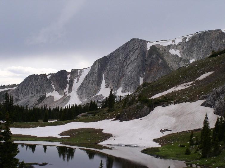 mountains near Laramie, WY